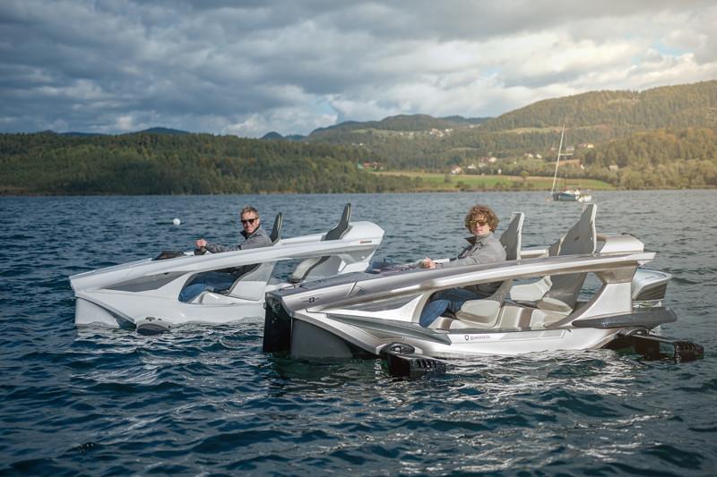 «Летающий» катер и просто крутой водный транспорт Quadrofoil QS2