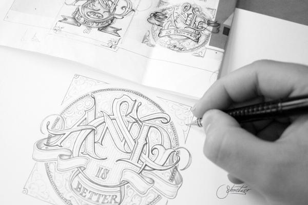 Типографика от Мартина Шметцера (Martin Schmetzer)