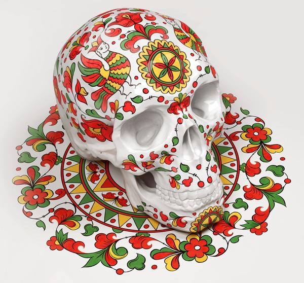 Наглядное пособие по стилям  русской народной живописи