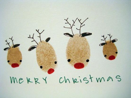 Новогодние открытки своими руками рисунки