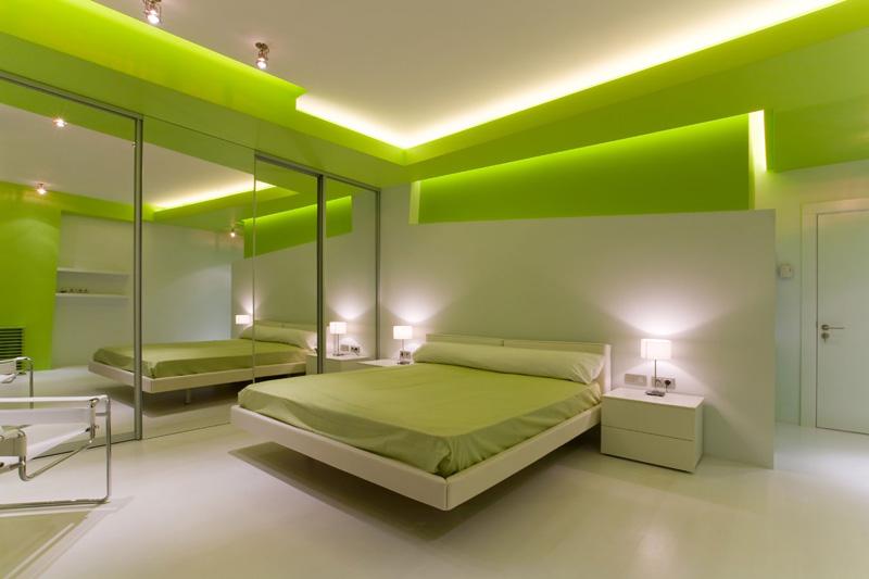 интерьер спальни - фото дизайн проекта.
