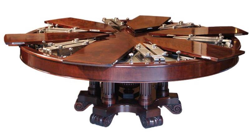 Раздвижной круглый стол своими руками