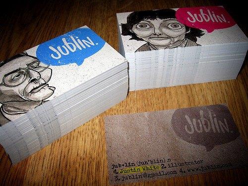 50 примеров красивого оформления визитных карточек