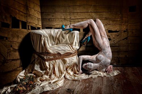 Stefan Gesell и его обнажённый арт гламур