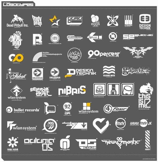 дизайнерские логотипы: